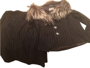 Max Mara Suits Suits Size 14 Fur Lined Jacket New Dress