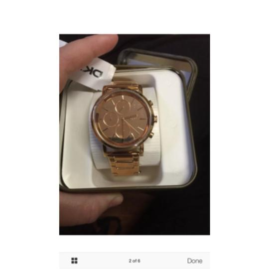 DKNY New DKNY Lexington Chronograph Rose Dial Rose Gold-plated Ladies Watch NY8862 Image 1
