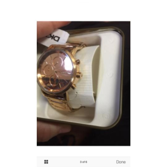 DKNY New DKNY Lexington Chronograph Rose Dial Rose Gold-plated Ladies Watch NY8862 Image 2