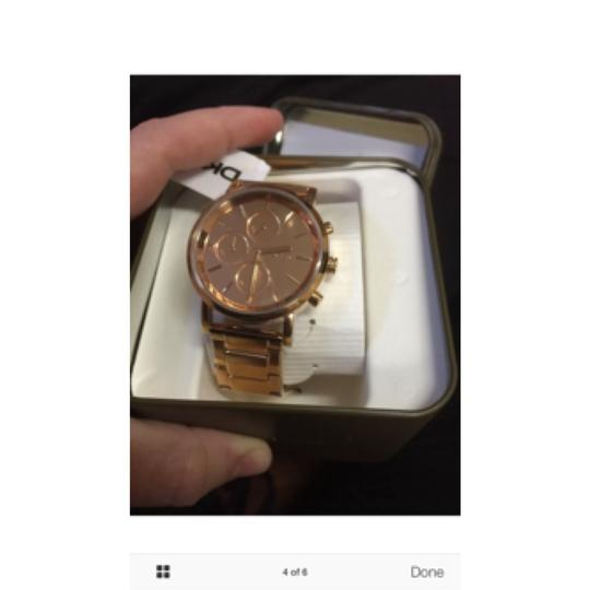 DKNY New DKNY Lexington Chronograph Rose Dial Rose Gold-plated Ladies Watch NY8862 Image 4