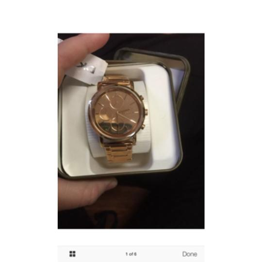 DKNY New DKNY Lexington Chronograph Rose Dial Rose Gold-plated Ladies Watch NY8862 Image 7