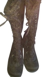 UNIONBAY Winter Lined Warm Brown Boots