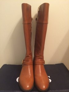 Ralph Lauren Burnt Calfskin (luggage) Boots