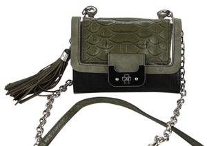 Diane von Furstenberg Python Heavy Duty Hardware Turn Lock Closure Cross Body Bag