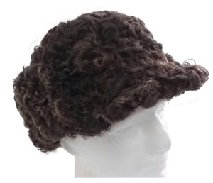 Other HAND MADE NATURAL BROWN PERSIAN SHEEP MAN'S RUSSIAN SHAPKA HAT SIZE XL NEW WITH TAG