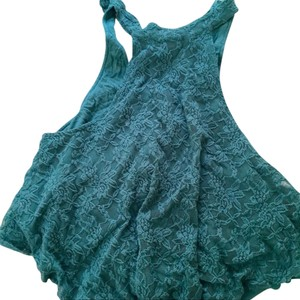 Kimchi Blue Lace High-neck Top Blue