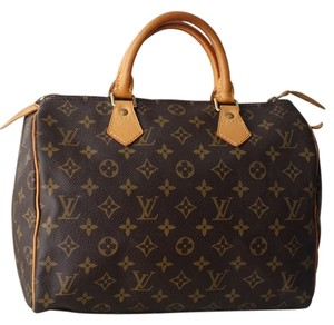 Louis Vuitton Speedy 30 Lv Speedy Satchel
