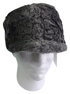 Other HAND MADE NATURAL GRAY PERSIAN SHEEP MAN'S RUSSIAN SHAPKA HAT SIZE XL NEW WITH TAG