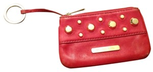 Michael Kors Wristlet in Red & Gold