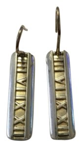 Tiffany & Co. Rare Authentic Tiffany & Co ATLAS bar silver earrings