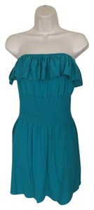 Geri C New York short dress Blue on Tradesy