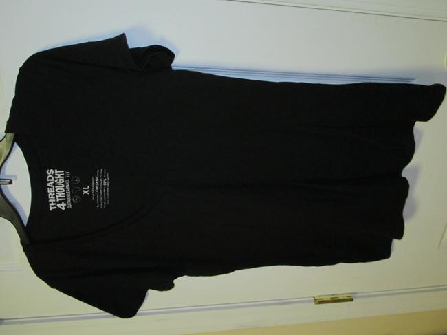 Threads 4 Thought Xl Fitted T Shirt Black