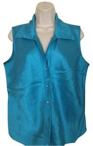 Dress Barn Top Blue