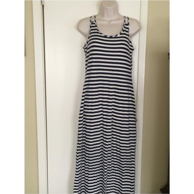Blue and white Maxi Dress by silvergate Image 2
