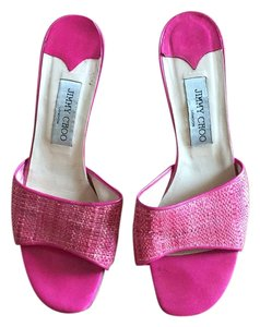 Jimmy Choo Fuschia Sandals