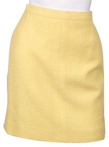 Chanel Skirt Pale Yellow