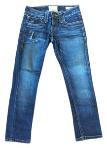 Taverniti So Jeans Capri/Cropped Denim-Medium Wash