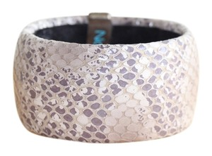Other lavender python-embossed bangle