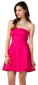 Francesca's Cocktail Strapless Hot Feminine Bright Fun Dress