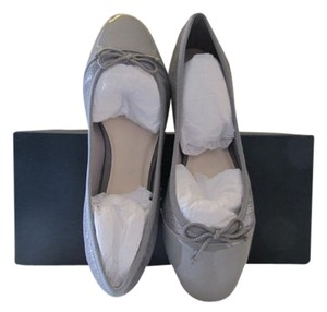 Cole Haan Gray Leather Ballet ironstone (gray) Flats