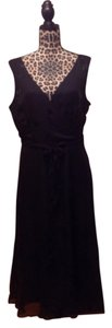Jonathan Martin Studio Formal Gown Dance Wedding Date Night Sleeveless Lbd Midi Dress