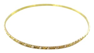 10KT Solid Yellow Gold Bracelet Bangle