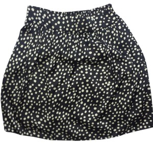 Maurices Polka Dot Skirt Blue