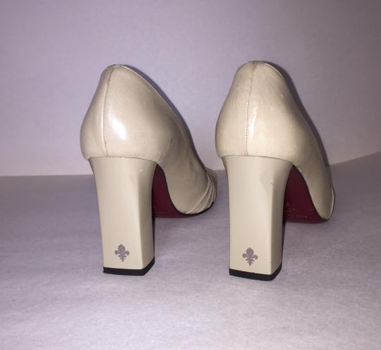 Patrick Cox Sexy Red Soles Vintage taupe Pumps Image 2