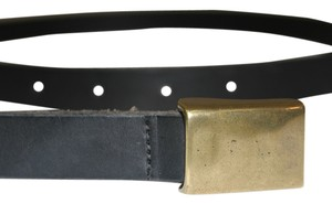 J.Crew J. Crew Black Genuine Leather Belt