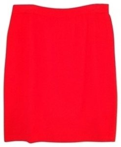 St. John Skirt Red