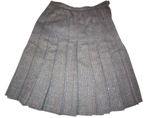 Dana Buchman Skirt Black/Gray