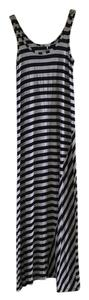 Navy blue/grey stripes Maxi Dress by Splendid