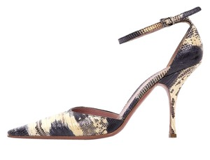 ALAA Lizard Skin Pumps