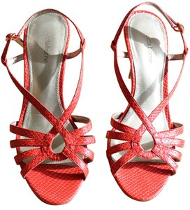Liz Claiborne red-orange Sandals