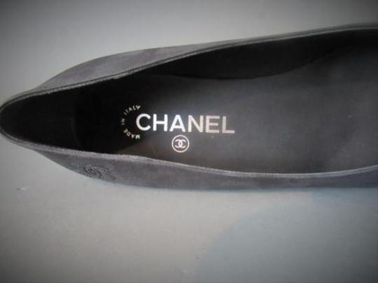 Chanel Star With Box Black Flats Image 1