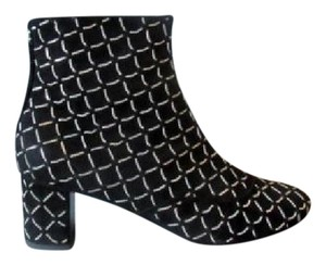 Chanel 15a With Box Black Boots