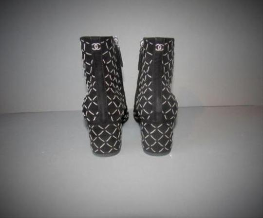 Chanel 15a With Box Black Boots Image 5