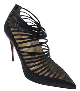 Christian Louboutin Gortik Leather Heels Black Boots