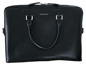 Burberry London Crossbody Travel Structured Satchel in Black