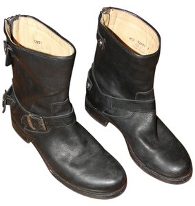 Frye Soft Leather Black Boots