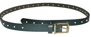 J.Crew J. Crew Forrest Green Genuine Leather Belt