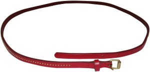 J.Crew J. Crew Red Beaded Belt