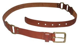 J.Crew J. CREW WOMEN'S ITALIAN LEATHER LINK BELT SADDLE
