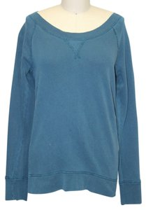 J.Crew Sweatshirt Green Cotton Longsleeve Sweater