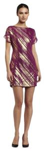 Trina Turk Metallic Silk Dress