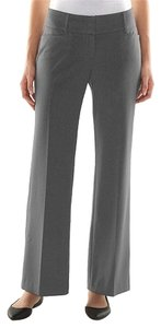 Apt. 9 Brand New Dress Gray 16 Boot Cut Pants Charcoal Gray