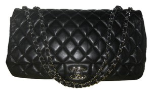Chanel Jumbo Maxi Raincoat Coco Shoulder Bag