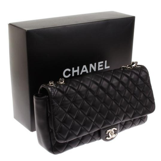 Chanel Jumbo Maxi Raincoat Shanghai Coco Rain Shoulder Bag