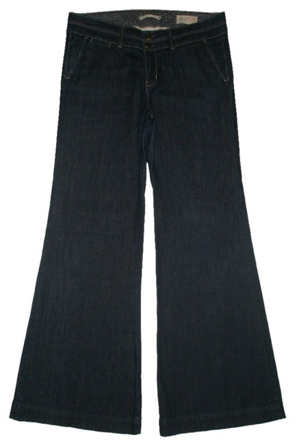 Item - Blue Dark Rinse Nwot 1969 Limited Edition 30/10 Trouser/Wide Leg Jeans Size 33 (10, M)