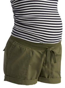 Old Navy NWT Old Navy Maternity 100% Cotton Green shorts size XS NEW